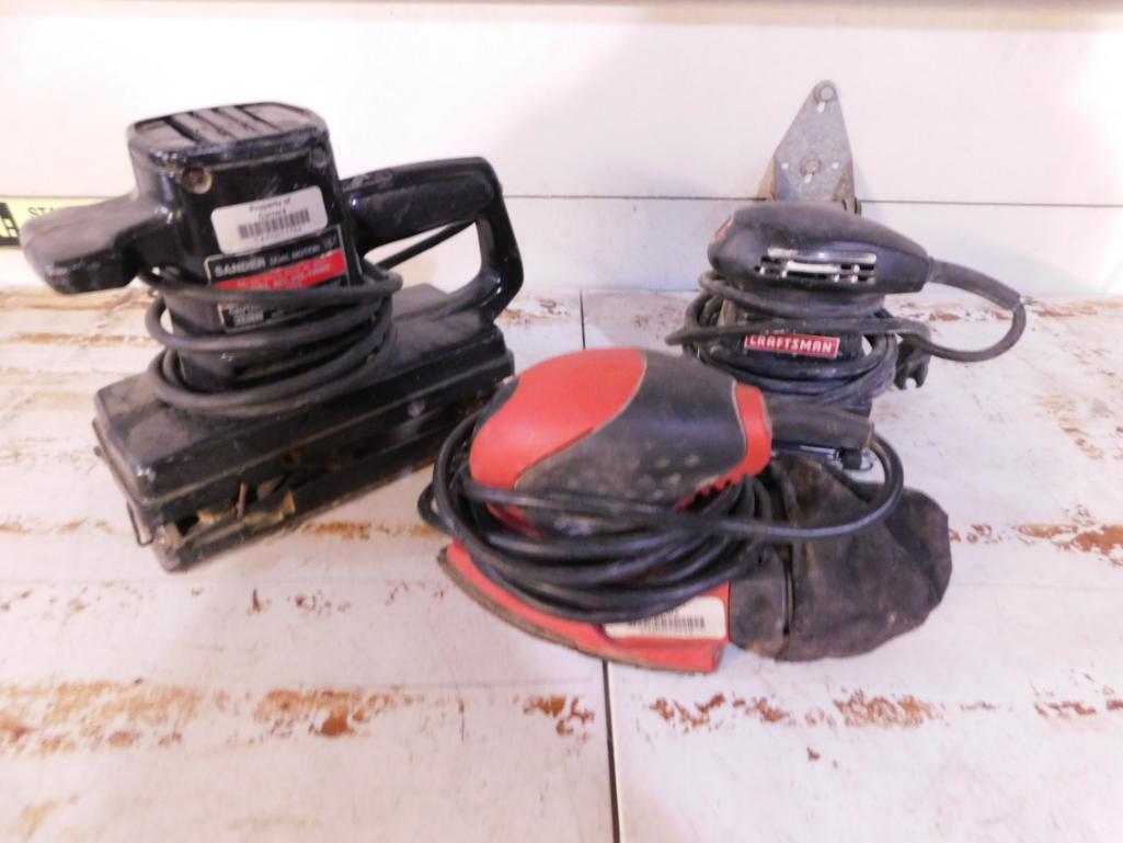 3-vibratory-sanders-1-skil-and-2-craftsman