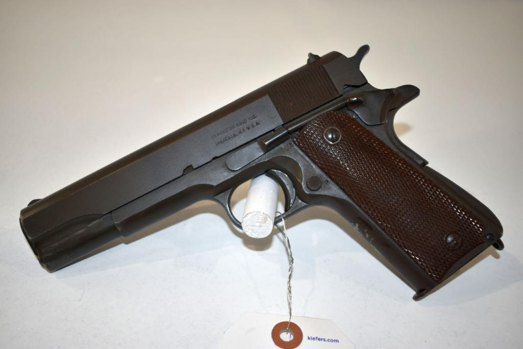 remington-1911-a1-us-army-45-cal-semi-auto-pistol-one-magazine-good-bore-stamped-united-states-property-sn-1313183