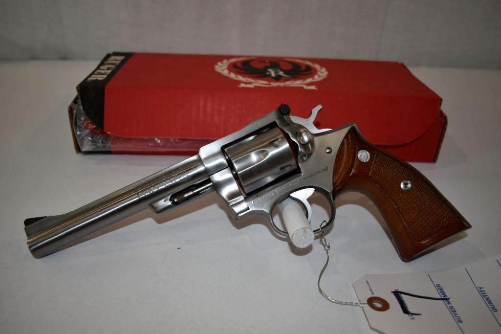 ruger-security-six-357-magnum-stainless-steel-revolver-minneapolis-police-1978-commemorative-sn-154-11443-6-barrel-believed-to-never-been-used