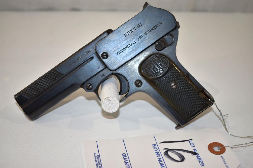 dreysc-germany-made-9mm-semi-auto-pistol-sn-237151-one-magazine