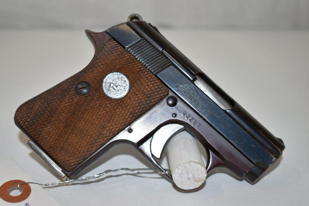 colt-25-auto-cal-semi-auto-pistol-sn-0d82287-one-magazine