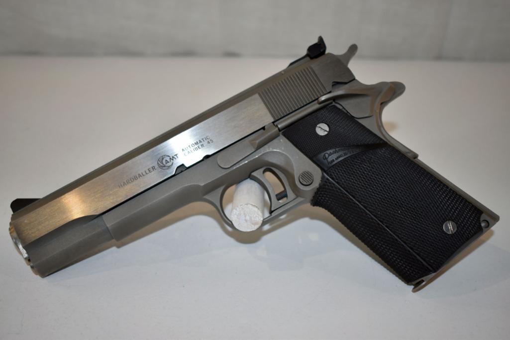 amt-hardballer-45-cal-semi-auto-pistol-three-magazines-sn-a12823