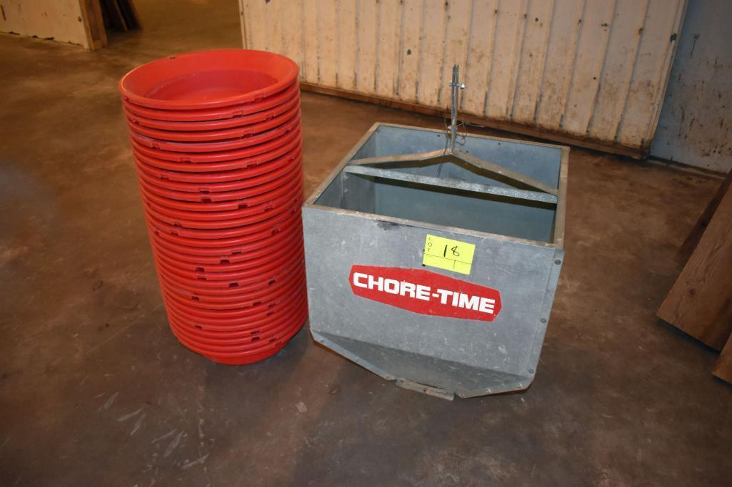 chore-time-feed-line-lowering-feed-system-approximately-140-system-with-electric-motors