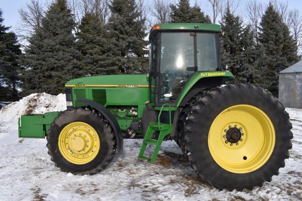 john-deere-7800-mfwd-7401-hours-18-442-axle-duals-14-9r30-front-tires-with-fenders-540-1000-pto-3pt-with-quick-hitch-3-hydraulic-rock-box-19-speed-p-s-14-suitcase-weights-sn-rw7800p00