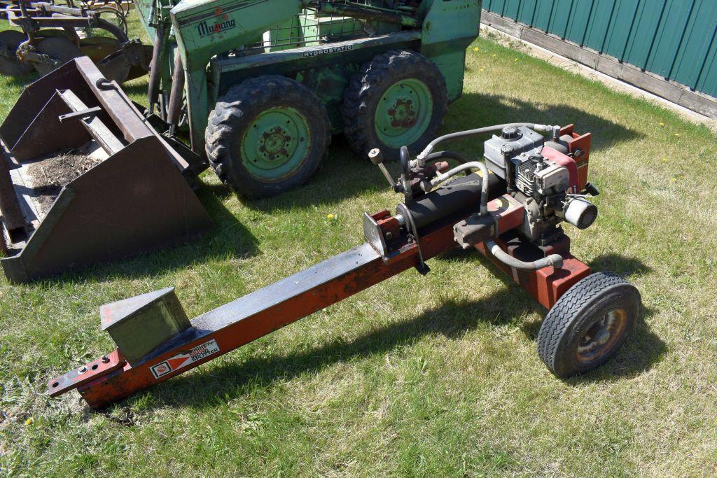 mighty-murc-hydraulic-wood-splitter-25-bed-5-5hp-motor-on-trailer