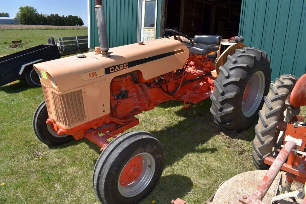 case-430-gas-tractor-open-station-wide-front-fenders-14-924-tires-3pt-540pto-single