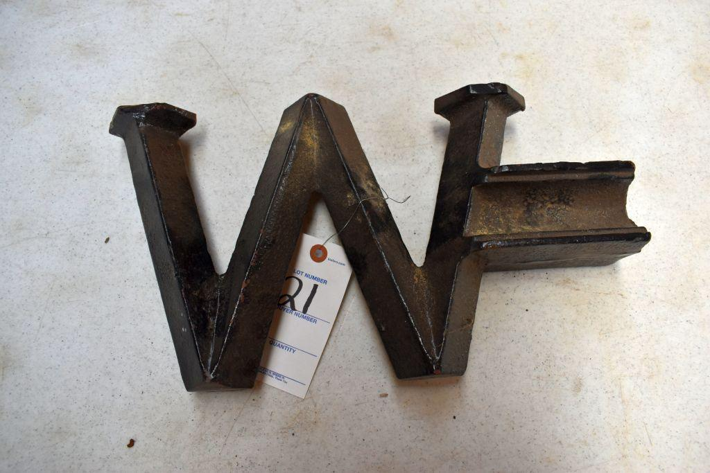 w-16-windmill-weight-from-a-12-althouse-pipe-raymond-windmill-recast