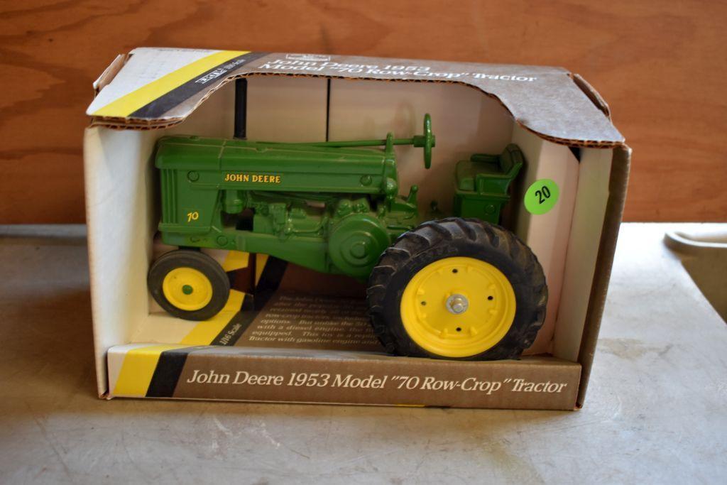 ertl-1953-john-deere-model-70-row-crop-tractor-1-16-scale
