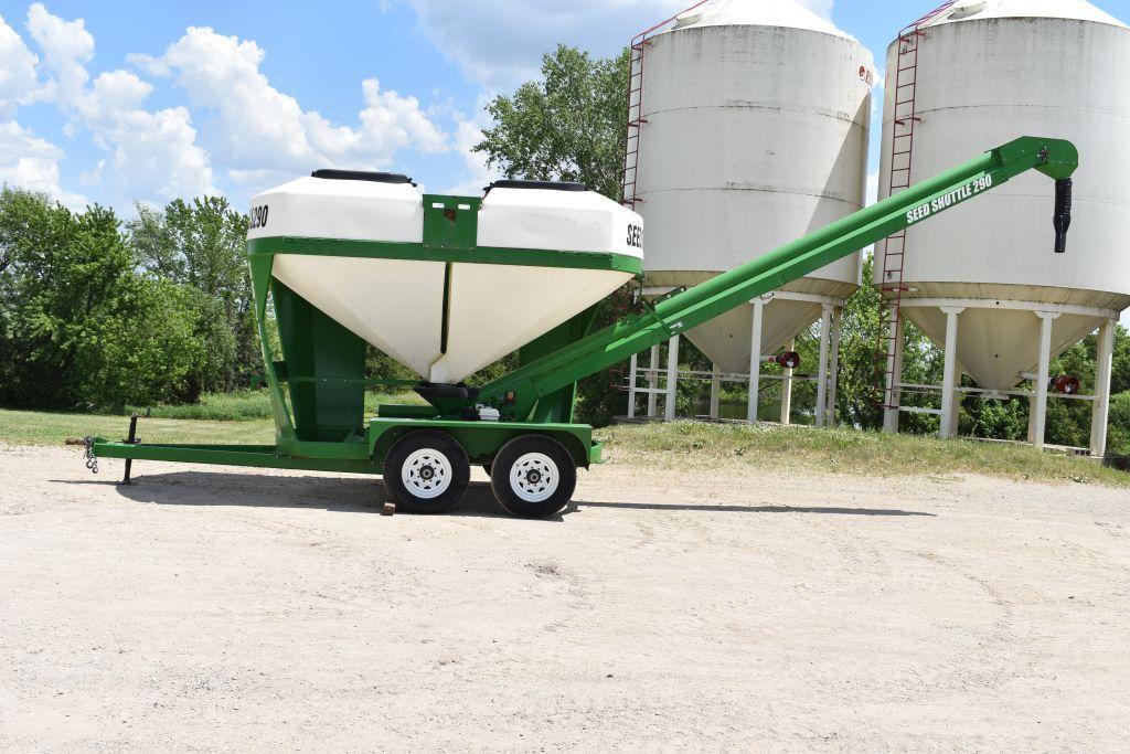 norwood-sales-ss290-poly-seed-tender-honda-5-5hp-power-unit-180-degree-swing-on-tandem-trailer