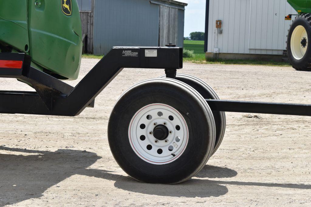 mauer-30%ef%bf%bd-head-trailer-front-dolly-wheel-single-axle