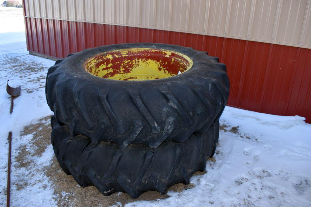 pair-of-18-438-tires-on-9-bolt-dual-rims