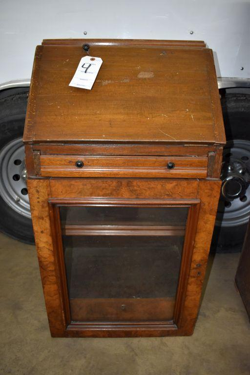 mahogany-drop-down-writing-desk-with-glass-door-cabinet-believed-to-have-come-out-of-ship-or