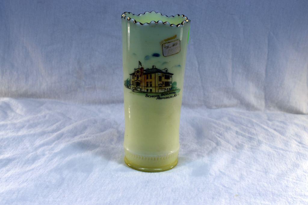 custard-glass-vase-with-republic-kans-advertising