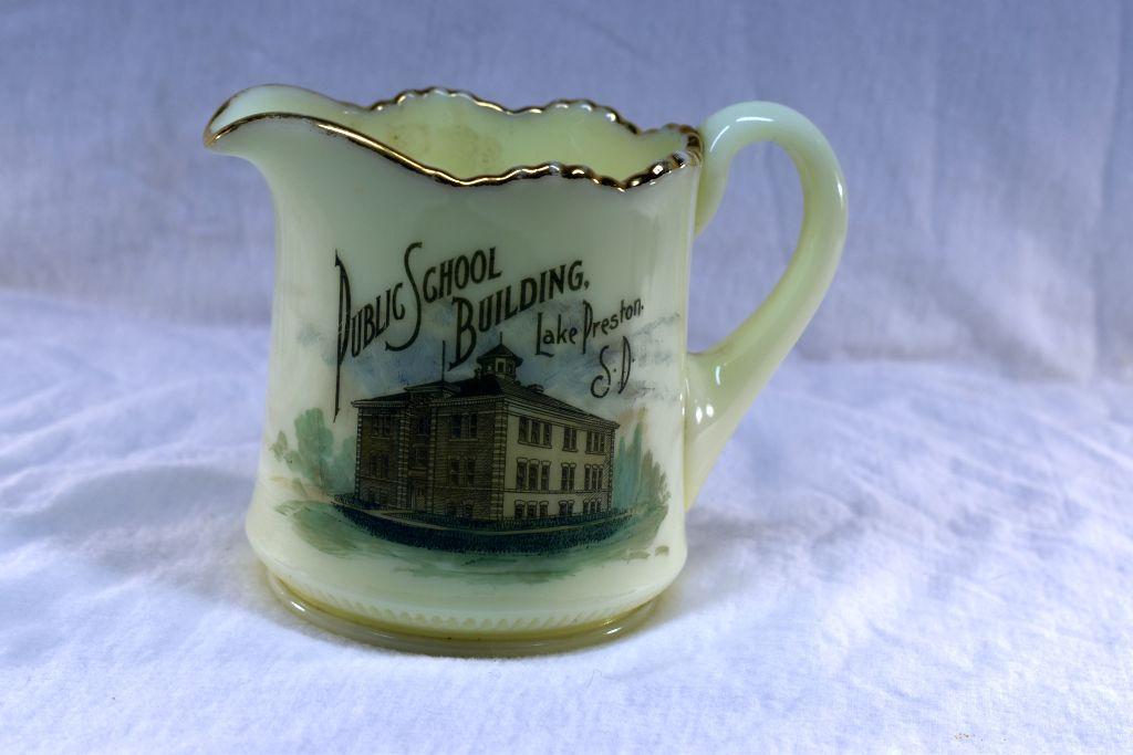 custard-glass-pitcher-from-public-school-building-lake-preston-sd