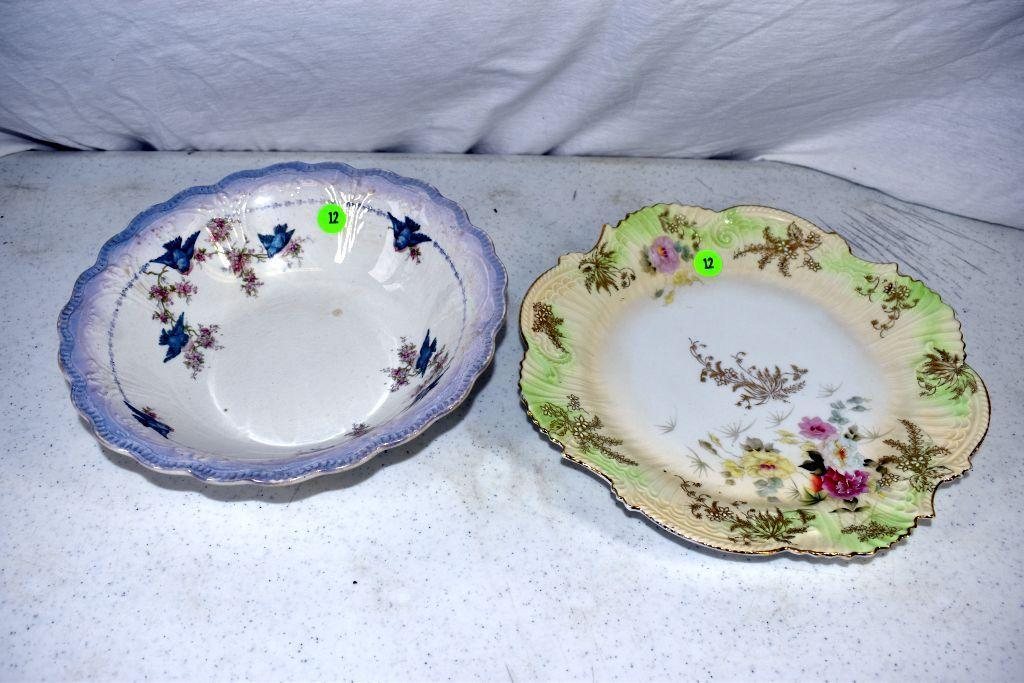 hand-painted-bowl-and-hand-painted-plate