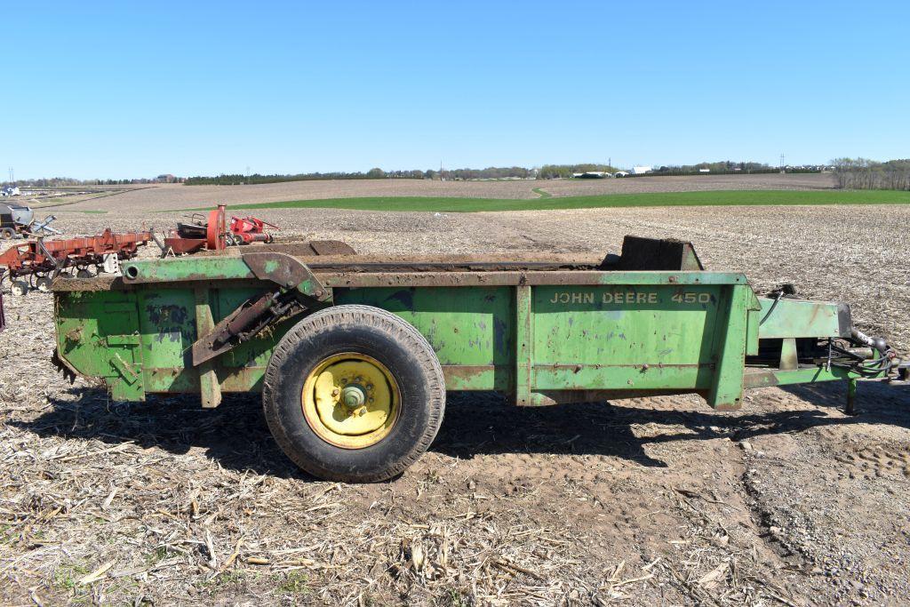 john-deere-450-hydra-push-manure-spreader-single-axle-540pto-slop-gate