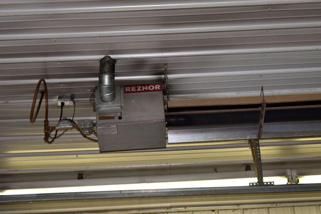 reznor-30-tube-heater-natural-gas-west-side-buyer-has-to-remove-heaters-from-ceiling