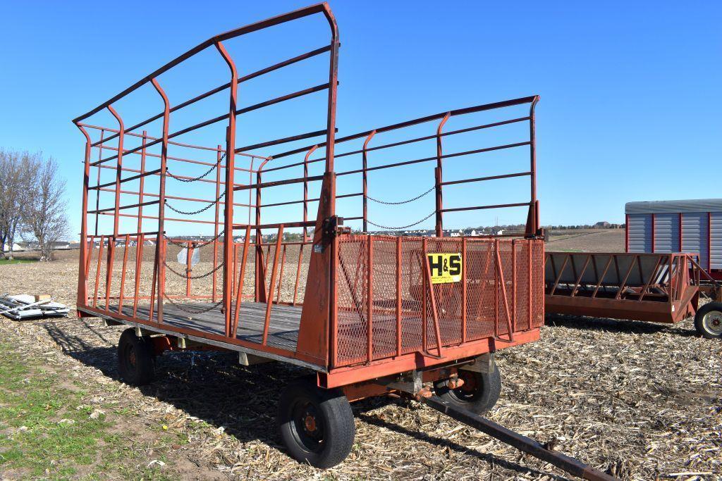 h-s-9x-16-steel-bale-throw-rack-8-ton-gear