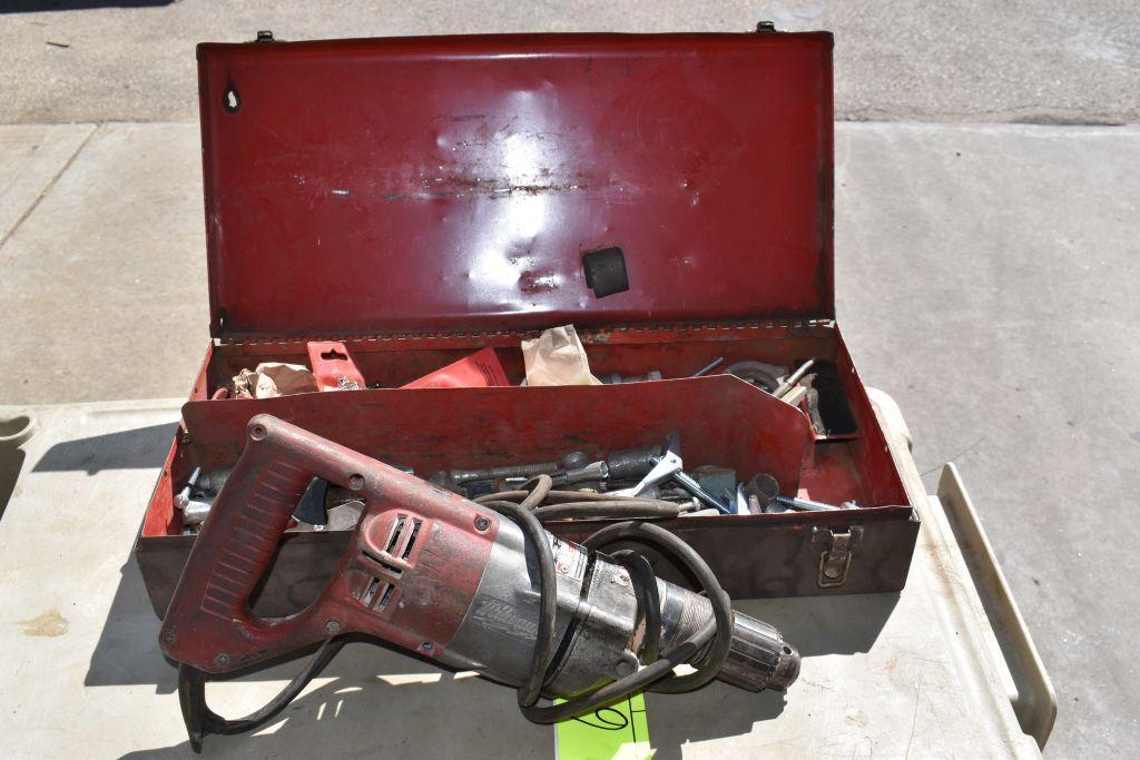 milwaukee-electric-corded-1-2-hammer-drill-tested-working