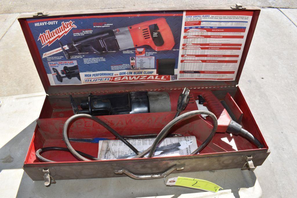 milwaukee-8-amp-sawzall-corded-tested-working