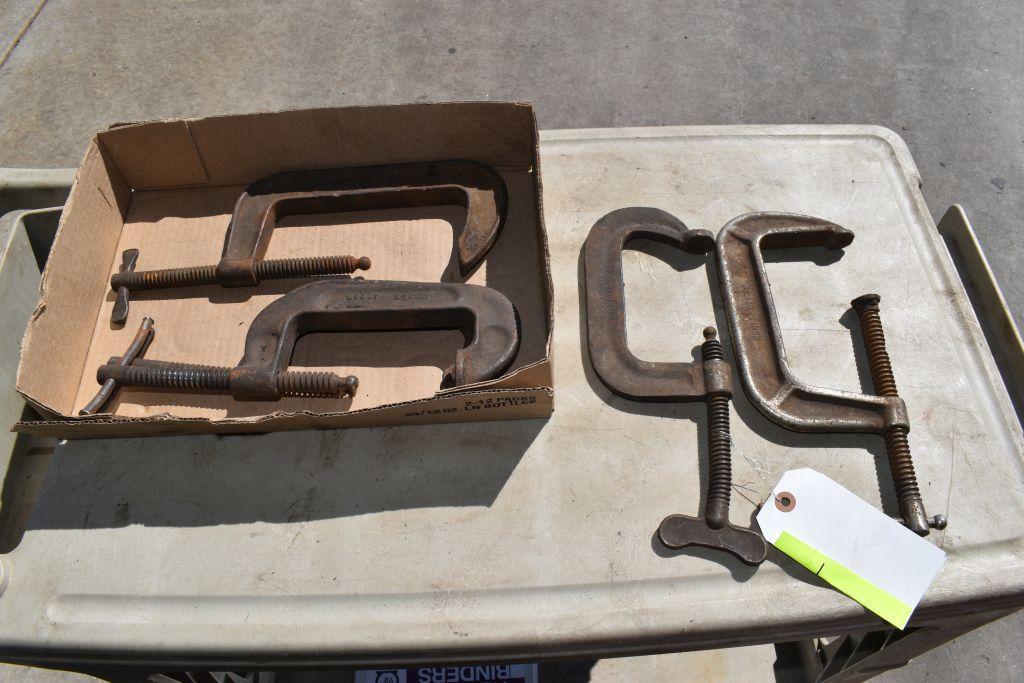 assortment-of-c-welding-clamps