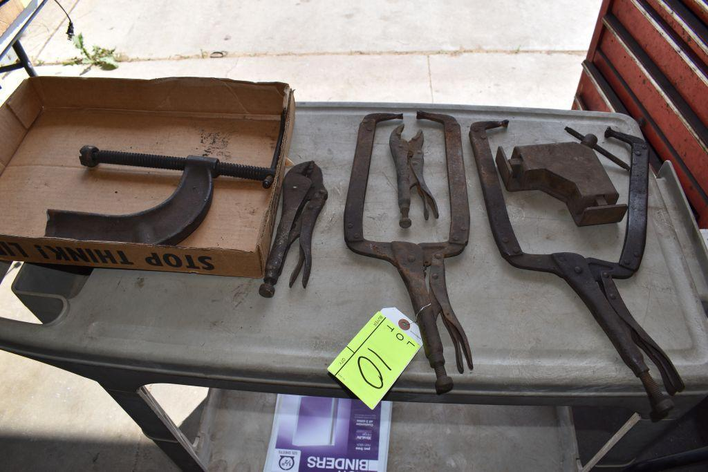 assortment-of-clamps-vice-grips-and-corner-clamps
