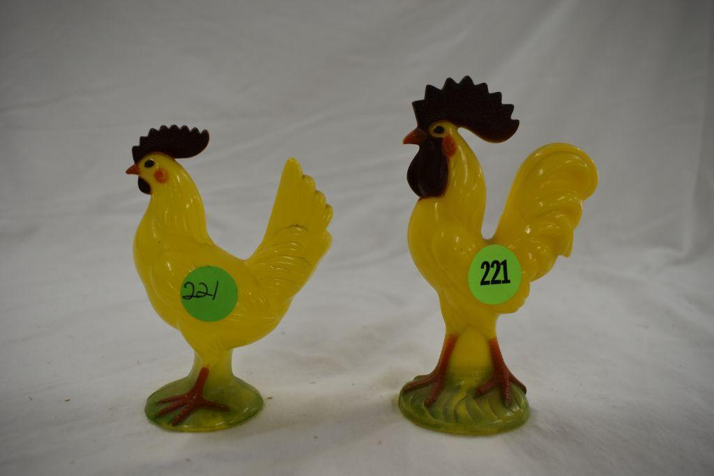 2-celluloid-roosters