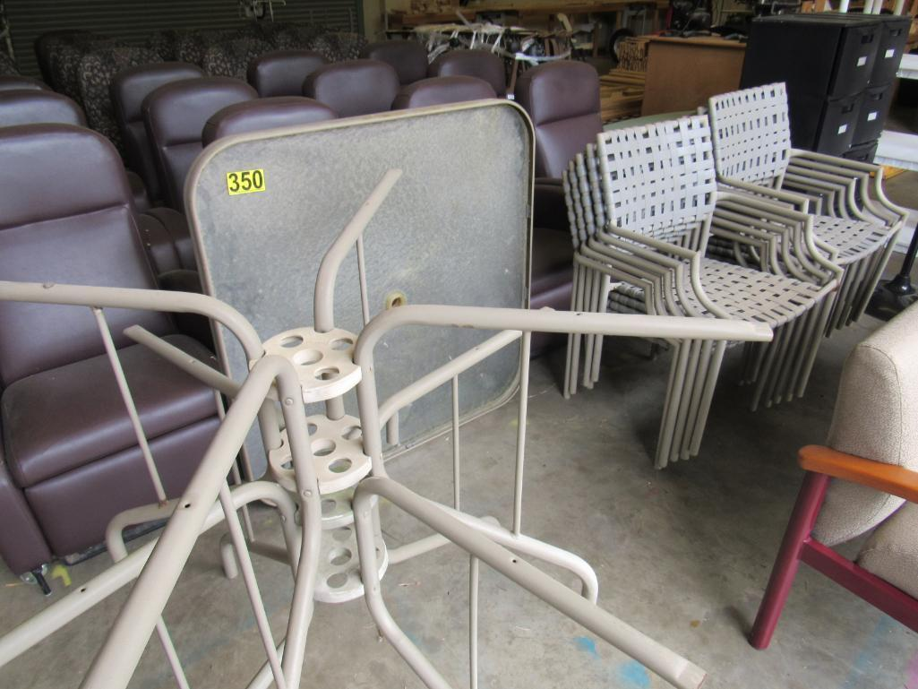 lot-of-2-glass-top-patio-tables-with-chairs