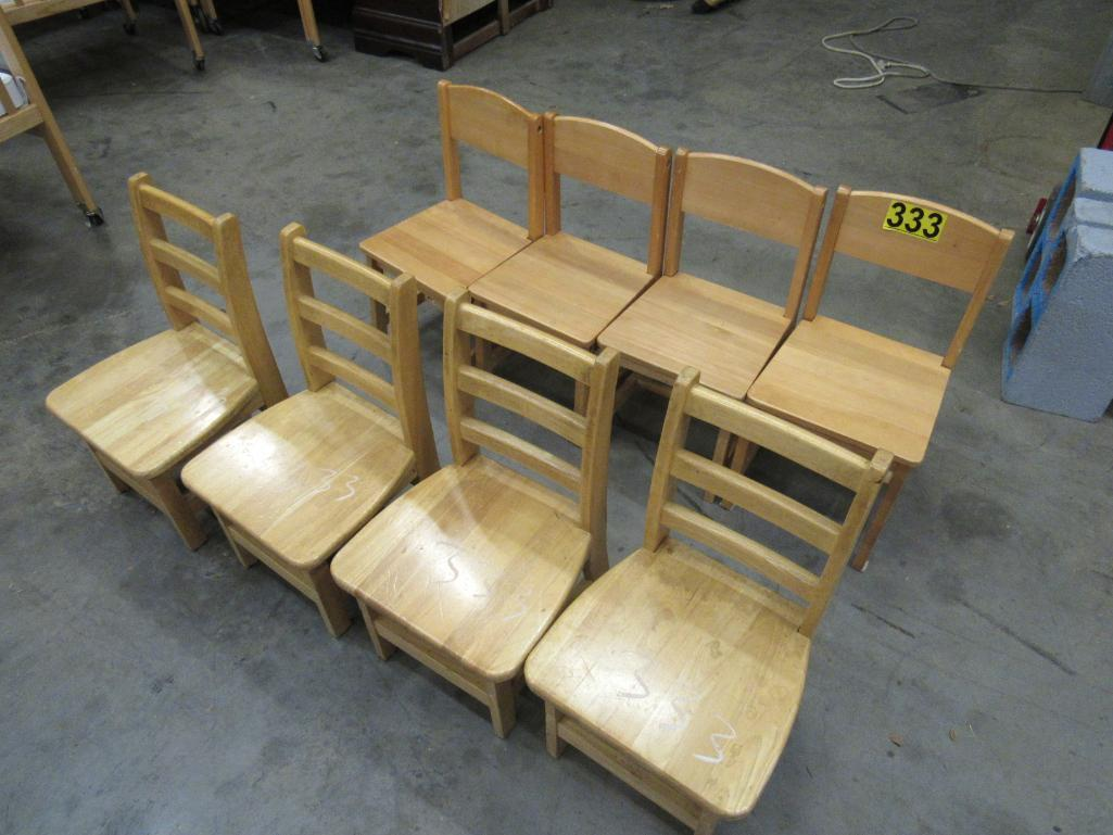 lot-of-8-wooden-kids-chairs