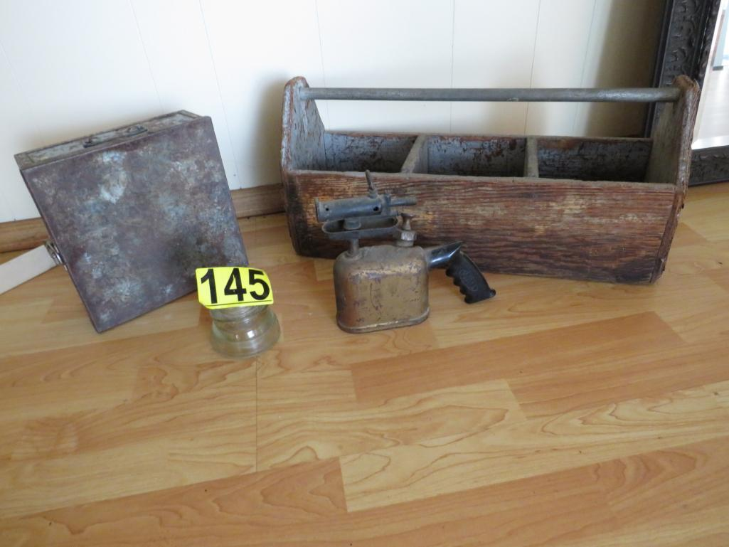 antique-tool-chest-and-torch