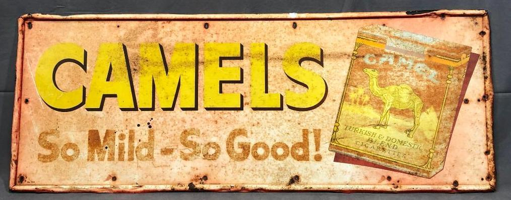 vintage-tin-camel-cigarette-sign-32in-x-12in-faded-paint-orig