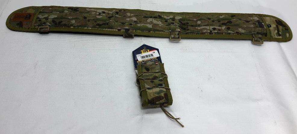 lot-of-2-items-1-high-speed-gear-sure-grip-padded-35-5-belt-1-high-speed-gear-taco-belt-mount