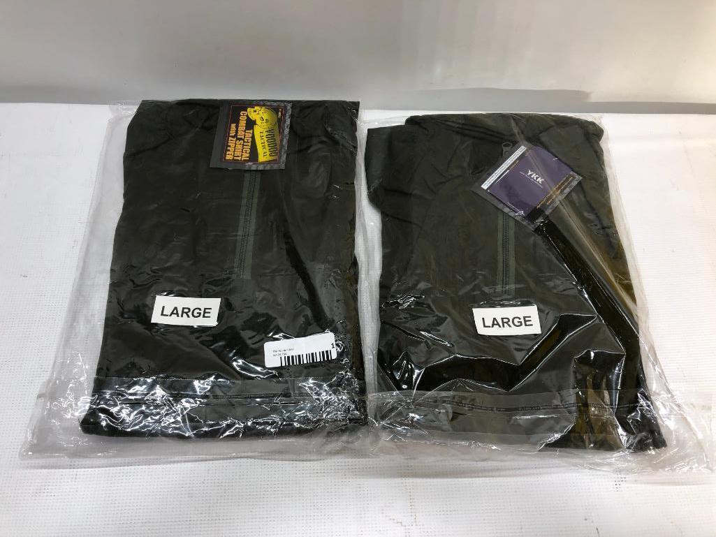 lot-of-2-items-2-voodoo-tactical-combat-shirt-w-zipper