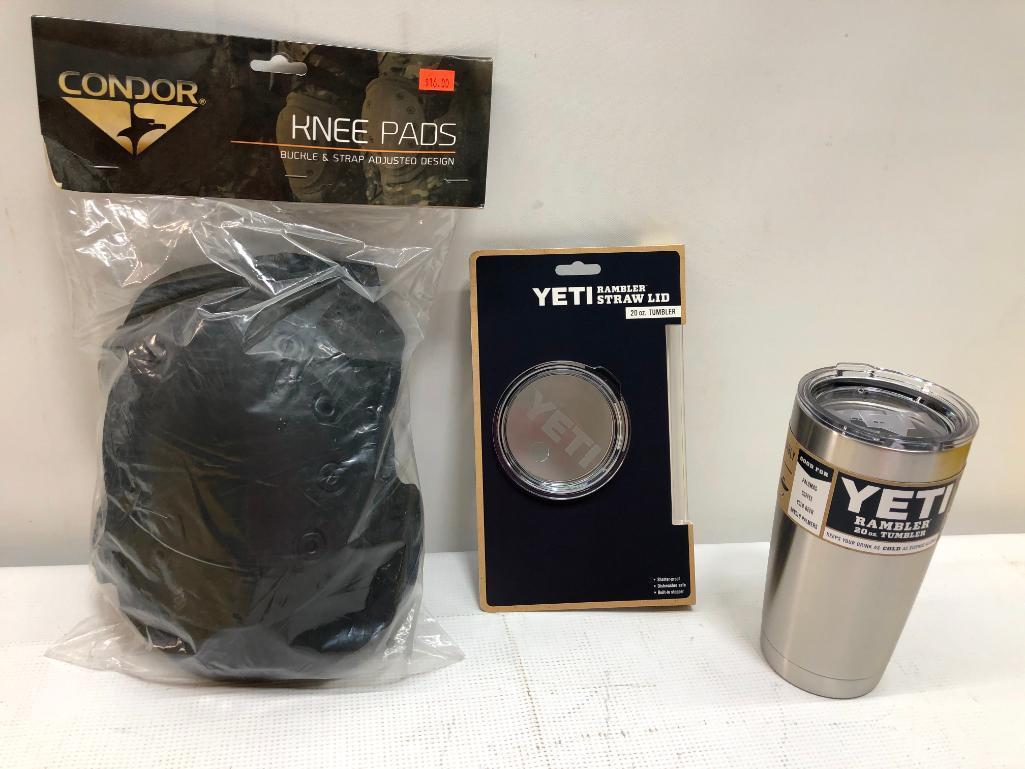 3-items-yeti-20oz-rambler-tumber-stainless-steel-rambler-straw-lid-straw-condor-knee-pads