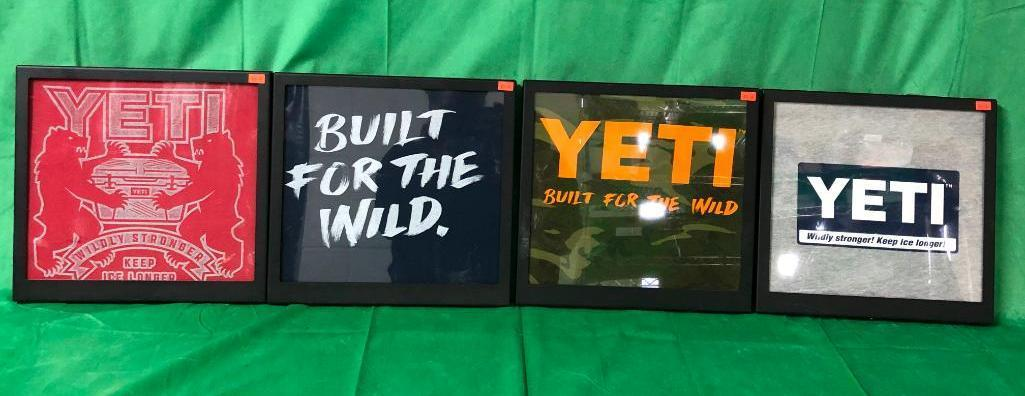lot-of-4-framed-yeti-t-shirts-framed-in-metal-display-toppers-w-magnetic-back