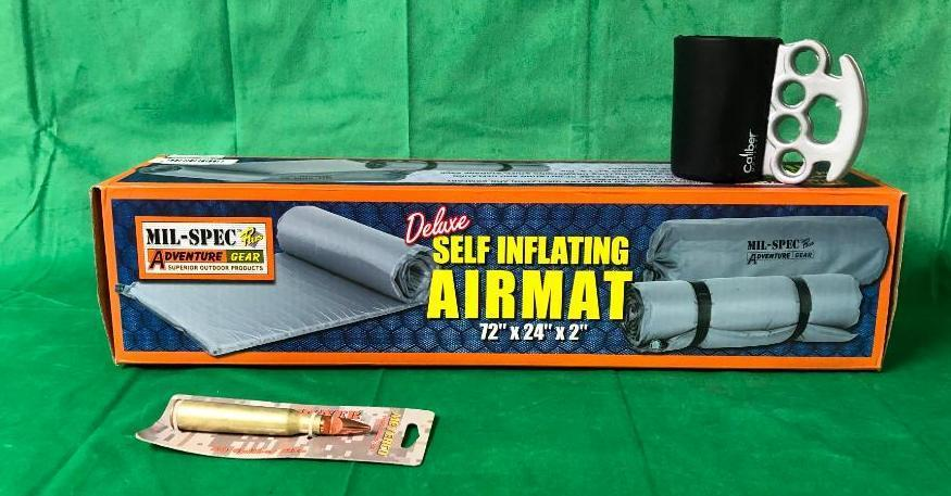 mil-spec-plus-adventure-gear-deluxe-self-inflating-air-mat-72in-x-24in-x-2in-w-koozie-50-cal-bottle-opener