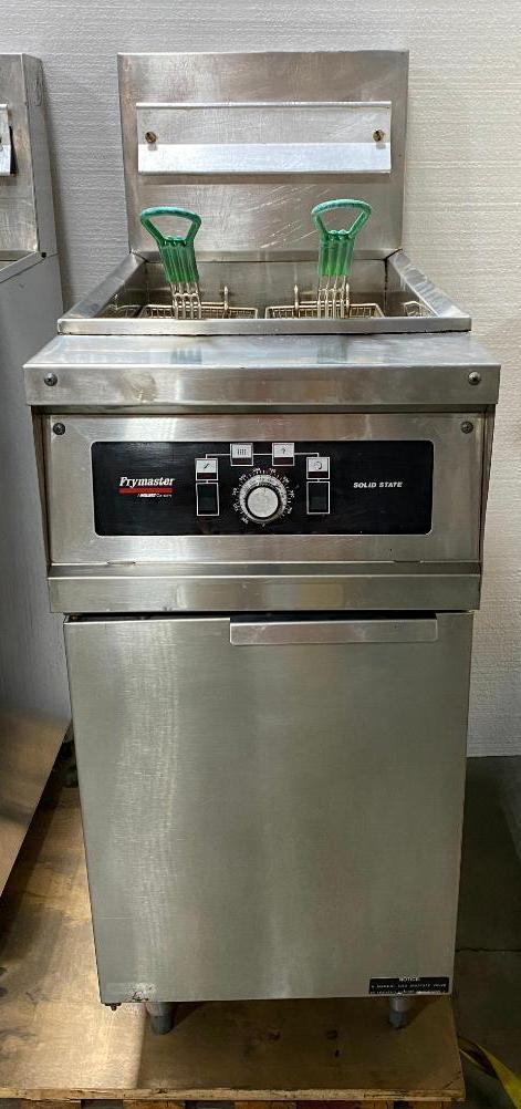 frymaster-solid-state-floor-fryer-model-mjh50sc-nat-gas-50lb-2-twin-baskets-clean