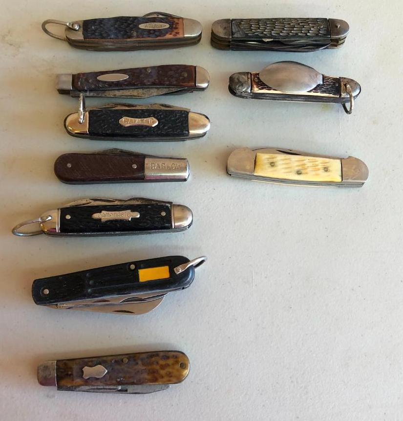 lot-of-10-vintage-pocket-knives-kabar-barlow-others