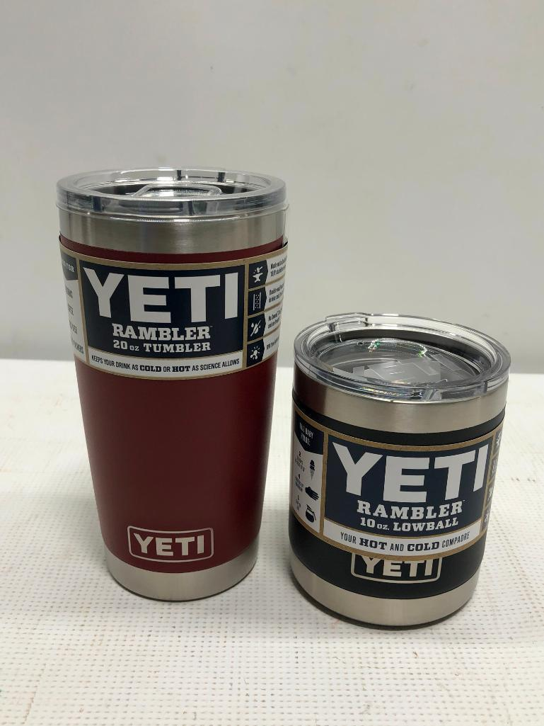 2-items-yeti-rambler-20oz-tumbler-brick-red-rambler-10oz-lowball-black