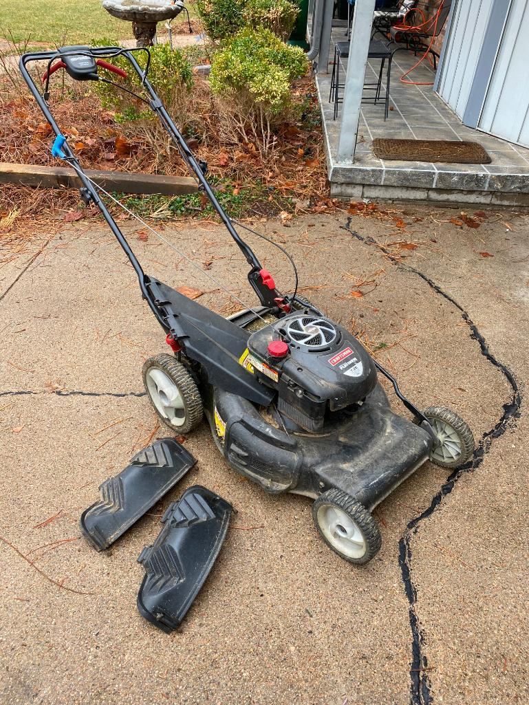 craftsman-ez-walk-variable-speed-drive-system-push-lawnmower-briggs-stratton-platinum-engine-190cc