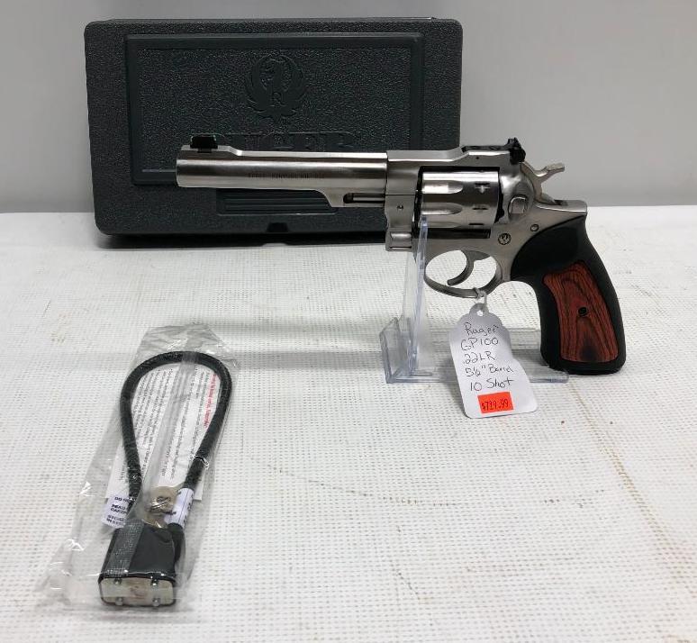 ruger-gp100-22lr-revolver-5-5in-barrel-stainless-sn-178-91851msrp729-99