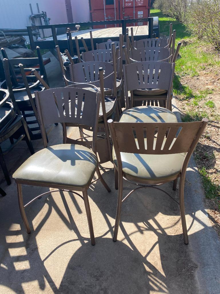 lot-of-13-benchmark-m-2170-hd-steel-framed-polyurethane-cushion-restaurant-chairs