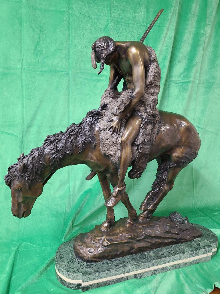 end-of-the-trail-by-james-e-fraser-solid-bronze-statue-35-tall
