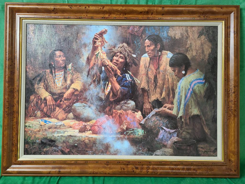 opening-the-sacred-bundle-by-howard-terpning-signed-and-numbered-166-550-33-x-22-3-8