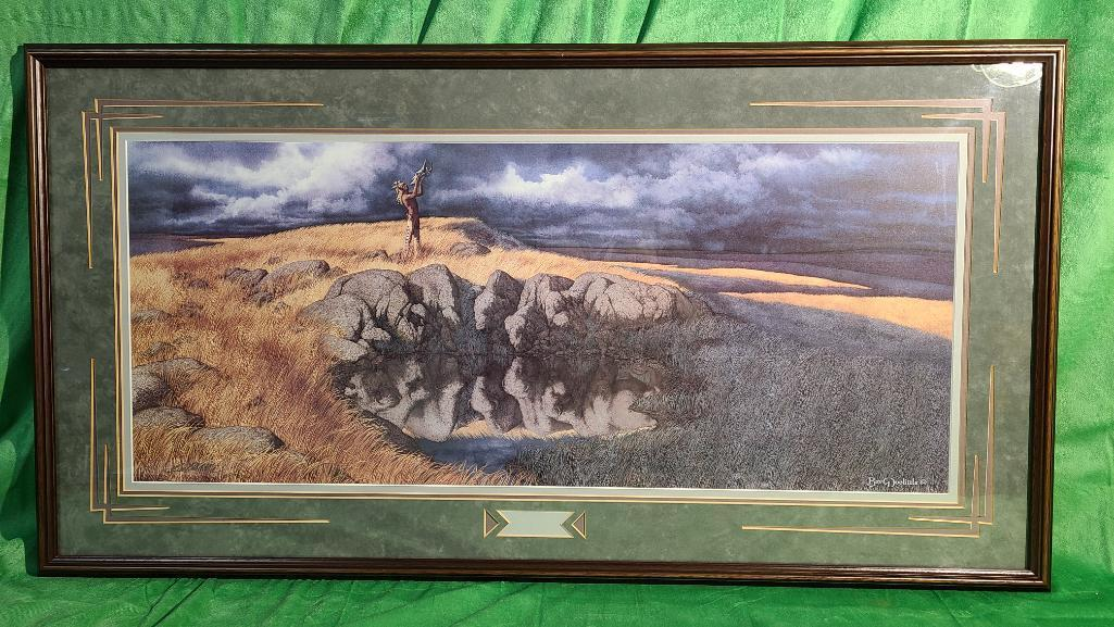 calling-the-buffalo-by-bev-doolittle-signed-numbered-500-8500-11-x-14