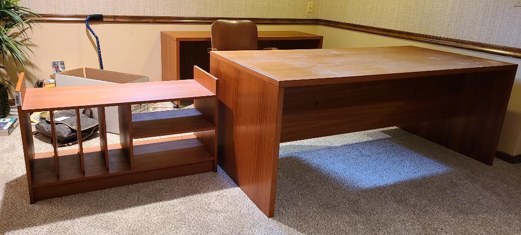 modern-designed-desk-credenza-and-shelf-unit-very-nice-mid-century-look-teak-looking-wood-style