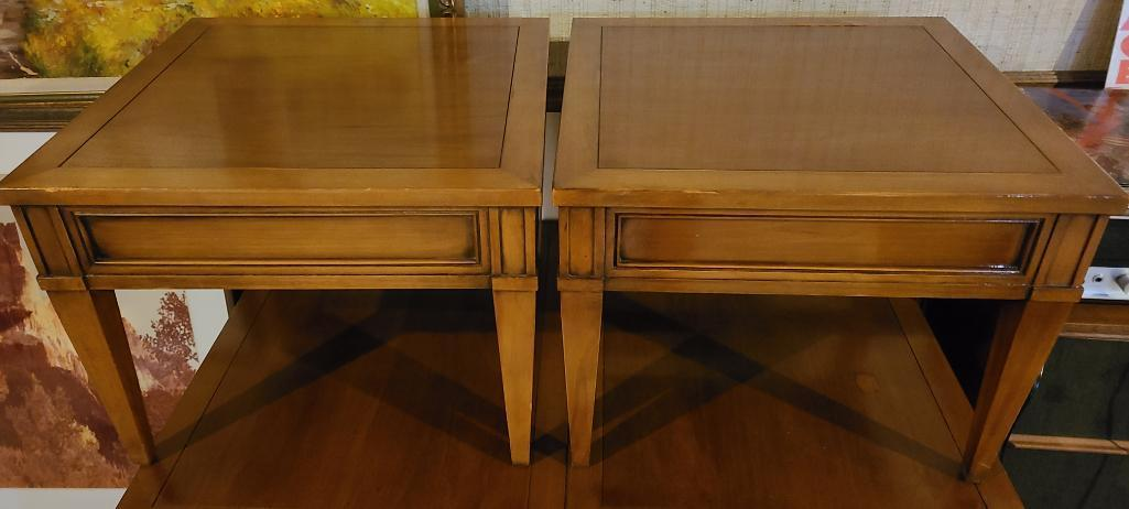 lot-of-2-mid-century-modern-hekman-end-tables-20in-x-20in