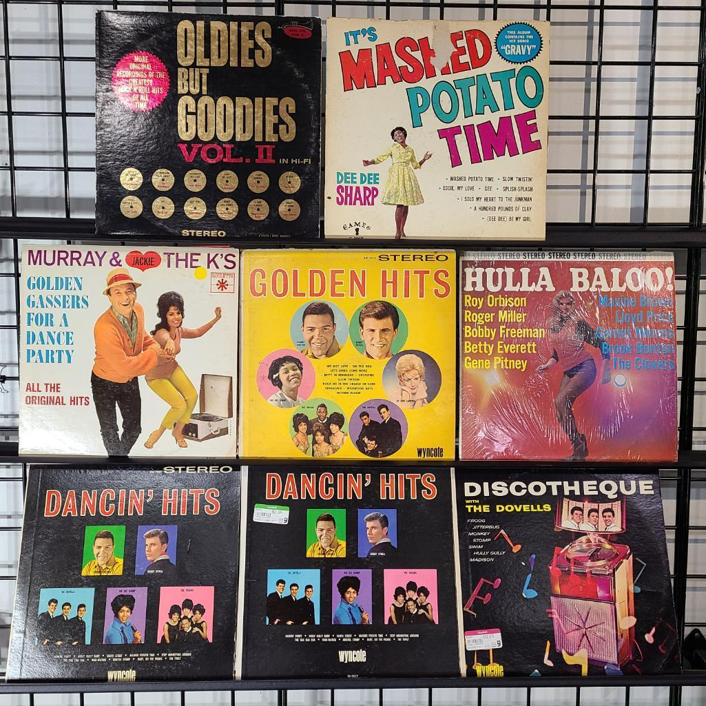 8-twist-records-see-images-for-descriptions-and-record-titles