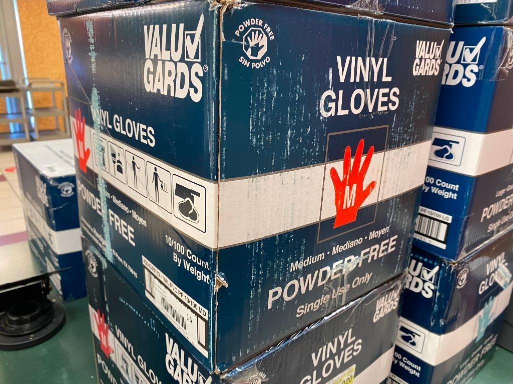 full-case-1000-vinyl-gloves-powder-free-size-m-by-value-gard-10-boxes-of-100