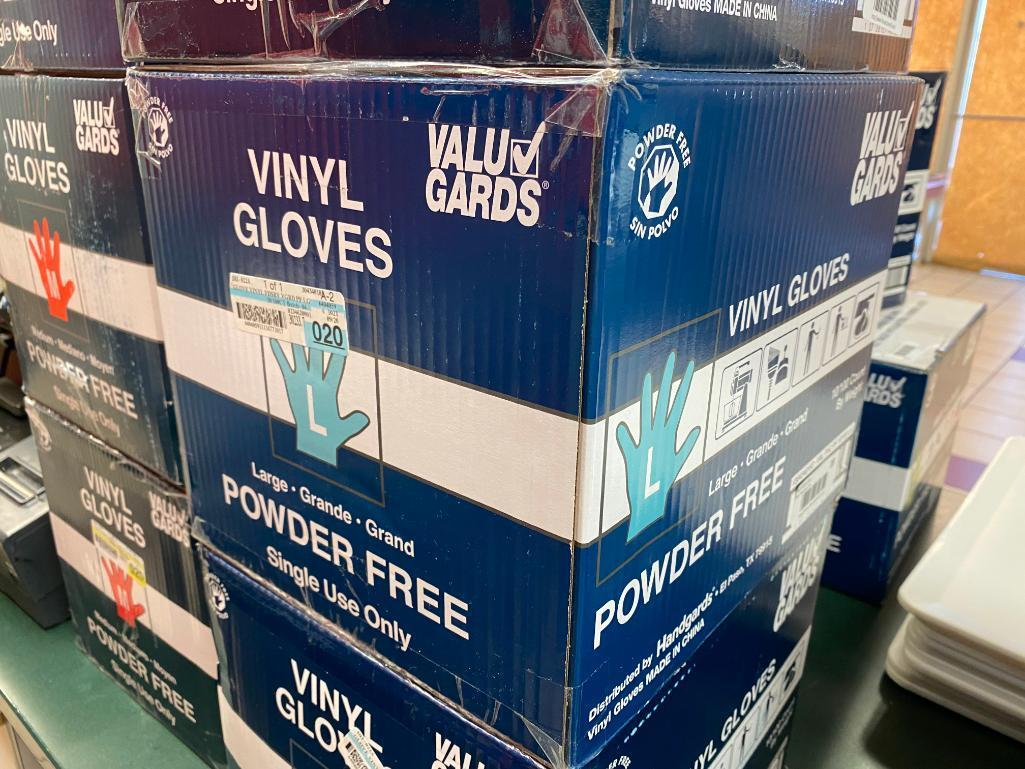 full-case-1000-vinyl-gloves-powder-free-size-l-by-value-gard-10-boxes-of-100